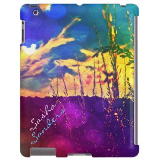 Rainbow Rural Skies iPad Case *personalize*