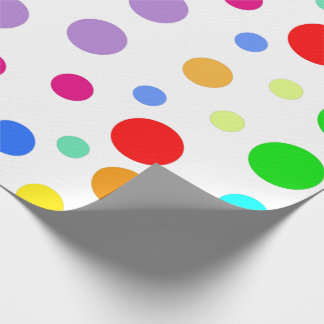 Rainbow sample graphic wrapping paper