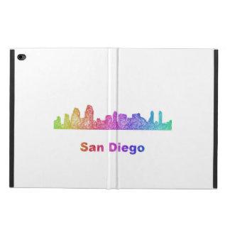 Rainbow San Diego skyline Powis iPad Air 2 Case