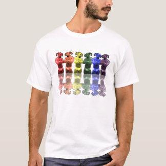 Rainbow Satyrs in Briefs T-Shirt