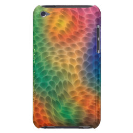 Rainbow Scales Barely There iPod Touch 4 Case