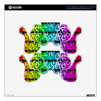 Rainbow Scales Decal For PS3 Controller