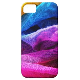 Rainbow scarf iPhone SE/5/5s case