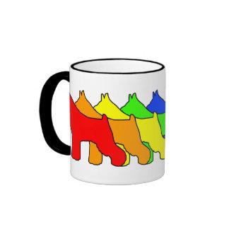 Rainbow Schnauzer Mug