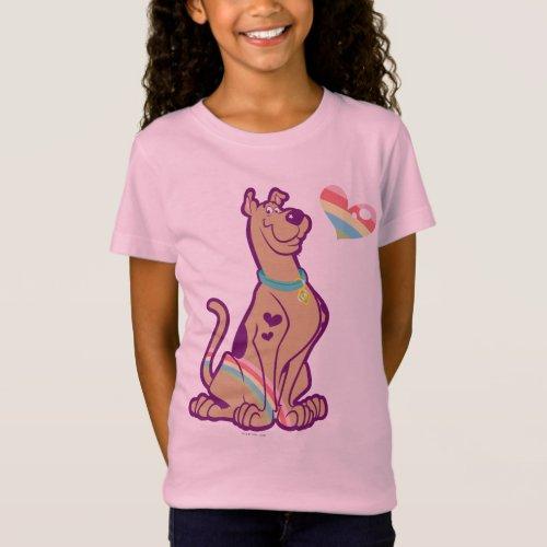 Rainbow Scooby_Doo T_Shirt