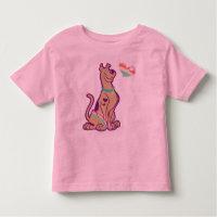 Rainbow Scooby-Doo Toddler T-shirt