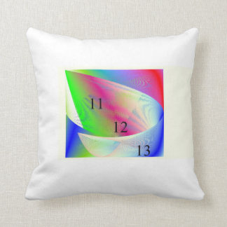 Rainbow Scoop Throw Pillow