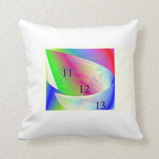 Rainbow Scoop Throw Pillow