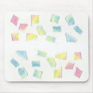 Rainbow scraps Mousepad