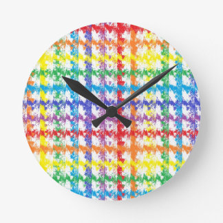 Rainbow Scratch Clock