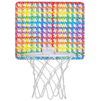 Rainbow Scratch Mini Basketball Hoop