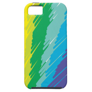 Rainbow Scribble iPhone 5 Cases