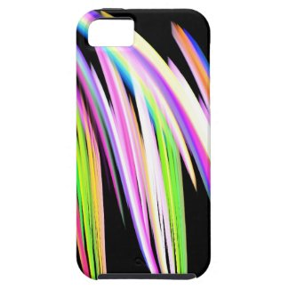 Rainbow Scribble iPhone 5 Cases