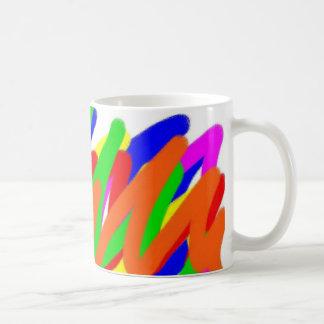 Rainbow Scribble Mug