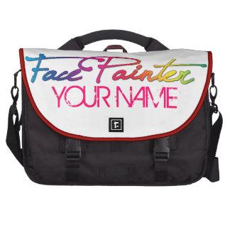 Rainbow Script Laptop Bags