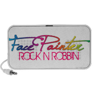 Rainbow Script Laptop Speaker