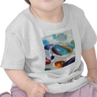 Rainbow Sea Glass T-shirts