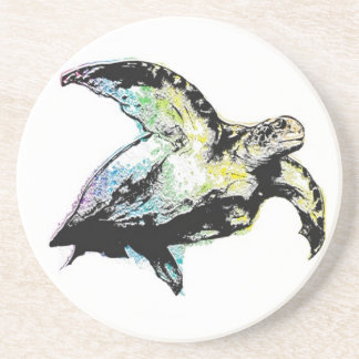 Rainbow Sea Turtle Coaster