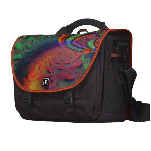 Rainbow Seashell Laptop Bag