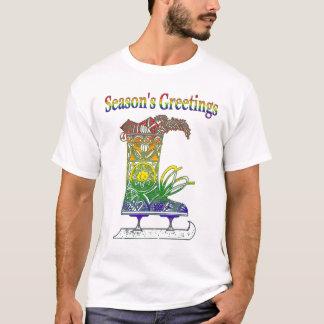 Rainbow Seasons Greetings T-Shirt