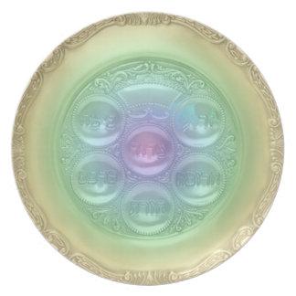 Rainbow Seder Plate