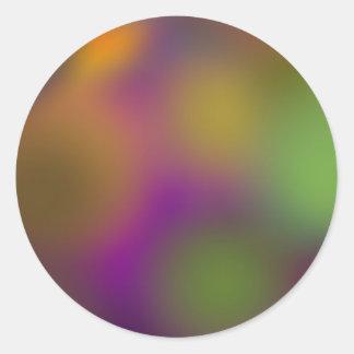 RAINBOW SERIES a15) Classic Round Sticker