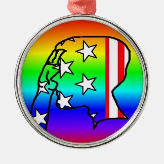 Rainbow Service - Ornament
