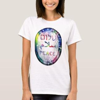 Rainbow Shalom Salaam Peace T-Shirt