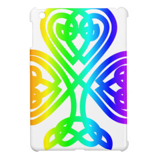 Rainbow Shamrock iPad Mini Cover