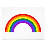 Rainbow Shape Photo Print