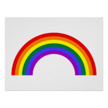 Rainbow Shape Poster