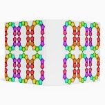 rainbow shapes binder