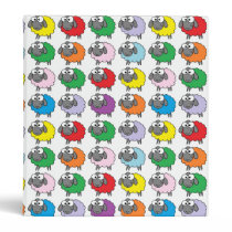 Rainbow Sheep Binder