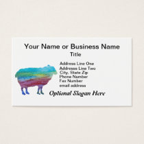 Rainbow Sheep Business Card