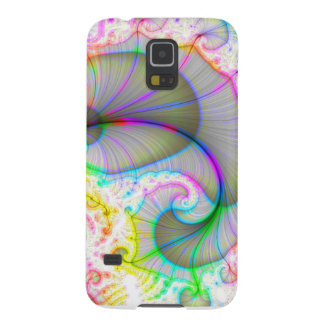 Rainbow Shell Spiral Galaxy S5 Case
