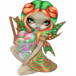 Rainbow Sherbet Fairy ice cream Photo Sculpture