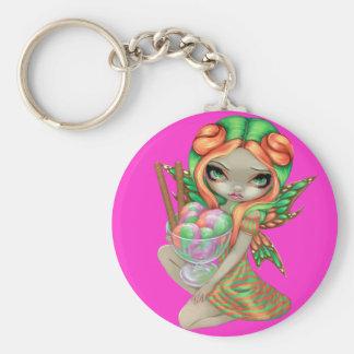 """Rainbow Sherbet Fairy"" Keychain"