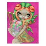 """Rainbow Sherbet Fairy"" Postcard"