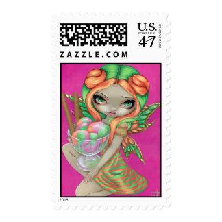 """Rainbow Sherbet Fairy"" Stamp"