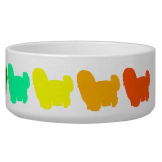 Rainbow Shih Tzu Pet Bowl