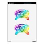 Rainbow Shockwave Xbox 360 Controller Decal