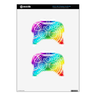 Rainbow Shockwave Xbox 360 Controller Decal