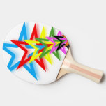 Rainbow Shooting Stars Ping Pong Paddle Ping-Pong Paddle