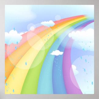Rainbow Shower Poster