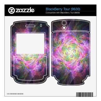 Rainbow Shuriken Decal For BlackBerry