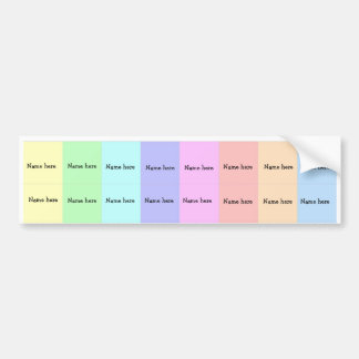 Rainbow sippy cup labels