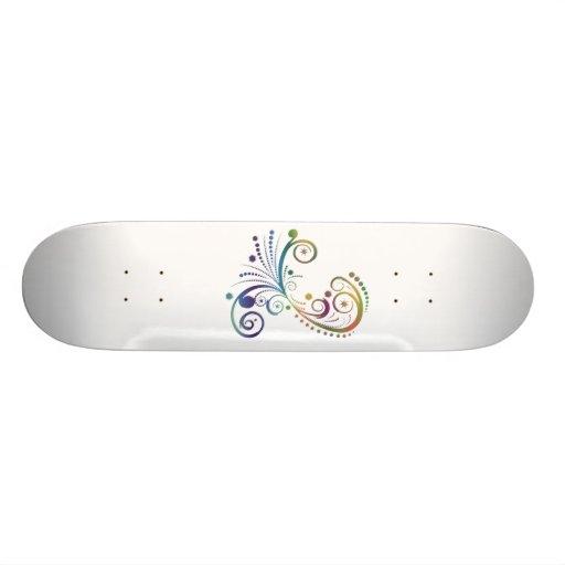 rainbow sk8 !! skateboard