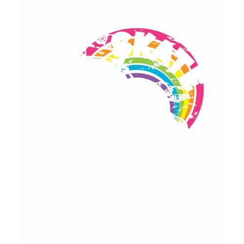rainbow skate shirt