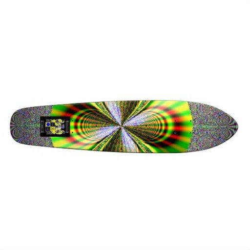 Rainbow Skateboard 01 - Customized