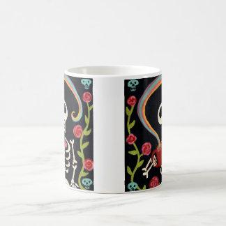 Rainbow Skelly Coffee Mug